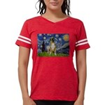 5.5x7.5-StarryNight-Boxer4-nat Womens Football