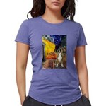 MP-Cafe-Boxer1up Womens Tri-blend T-Shirt