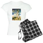 MP-Umbrella-Boxer1up Women's Light Pajamas