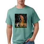 MP-MidEve-Corgi-Bi-Black Mens Comfort Colors Shirt