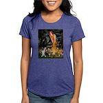 MP-MidEve-Corgi-Bi-Black Womens Tri-blend T-Shirt