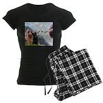 MP-Creation-Briard-Pair Women's Dark Pajamas