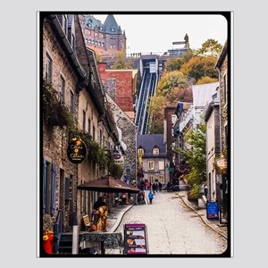 Old Quebec, Rue Sous Le Fort Small Poster