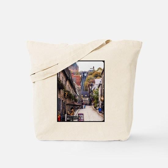 Old Quebec, Rue Sous Le Fort Tote Bag
