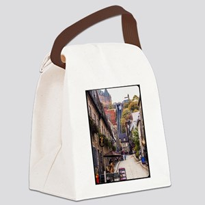 Old Quebec, Rue Sous Le Fort Canvas Lunch Bag