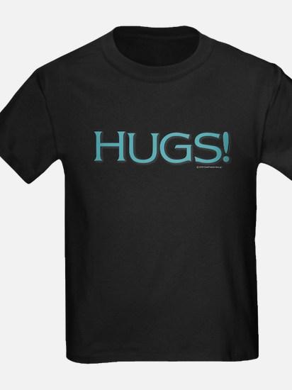 HUGS! - Teal T-Shirt