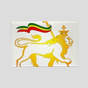 KING OF KINGZ LION Rectangle Magnet