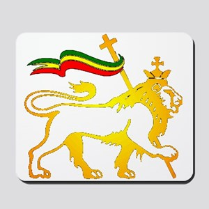 KING OF KINGZ LION Mousepad
