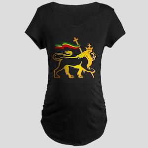 KING OF KINGZ LION Maternity Dark T-Shirt