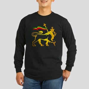 KING OF KINGZ LION Long Sleeve Dark T-Shirt