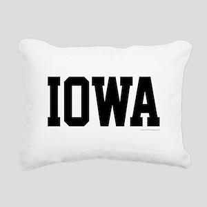 Iowa Jersey Font Rectangular Canvas Pillow