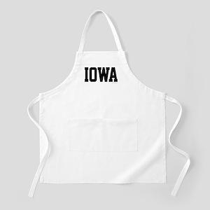 Iowa Jersey Font Apron