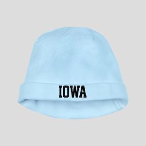 Iowa Jersey Font baby hat