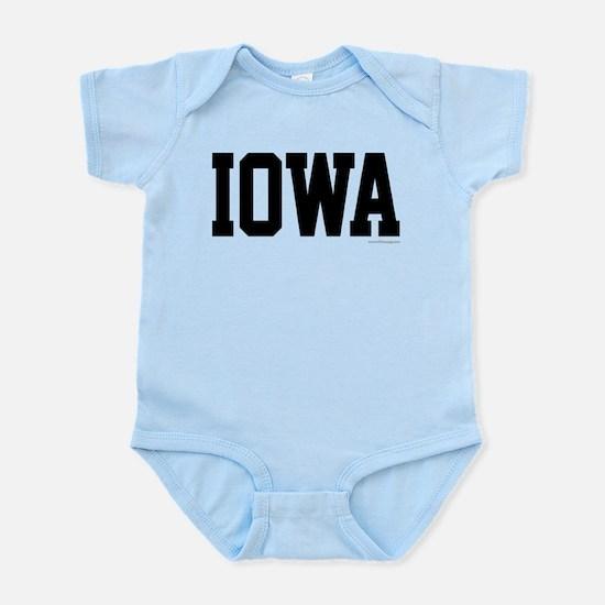 Iowa Jersey Font Infant Bodysuit