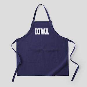Iowa Jersey Font Apron (dark)