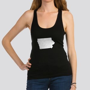 Iowa State Outline Racerback Tank Top