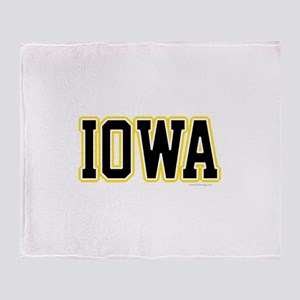 Iowa Throw Blanket