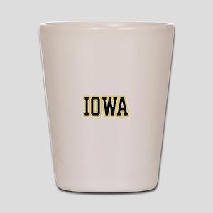 Iowa Shot Glass