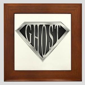 SuperGhost(metal) Framed Tile