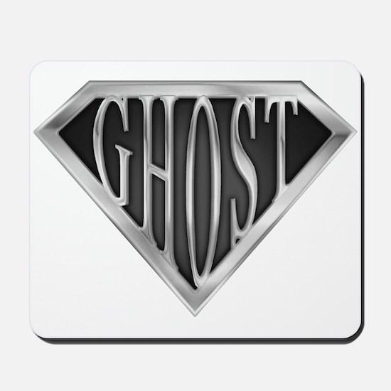 SuperGhost(metal) Mousepad