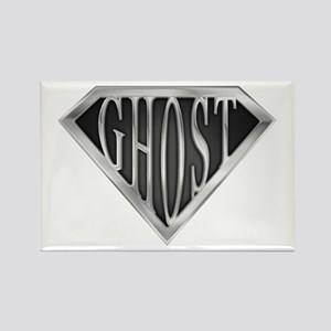 SuperGhost(metal) Rectangle Magnet