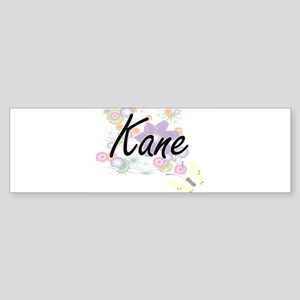 Kane surname artistic design with F Bumper Sticker