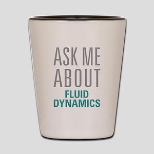 Fluid Dynamics Shot Glass