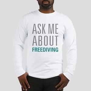 Freediving Long Sleeve T-Shirt