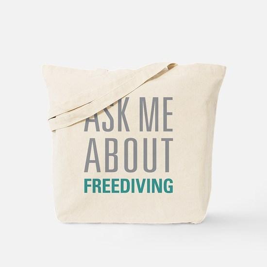 Freediving Tote Bag