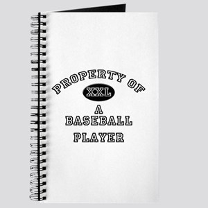 Property of a Baseball Player Journal