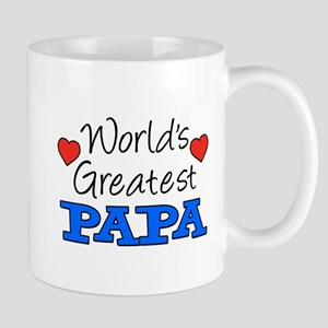 World's Greatest Papa Drinkware Mugs