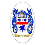 Miynarski Sticker (Oval 50 pk)