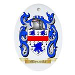 Miynarski Oval Ornament
