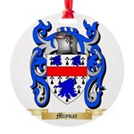 Miynar Round Ornament