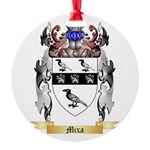 Mixa Round Ornament