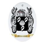 Mitsnovich Oval Ornament