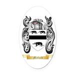Mitford Oval Car Magnet