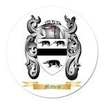 Mitford Round Car Magnet