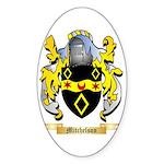 Mitchelson Sticker (Oval 10 pk)