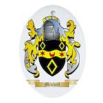 Mitchell Oval Ornament
