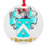 Mitchell English Round Ornament