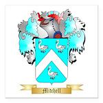 Mitchell English Square Car Magnet 3