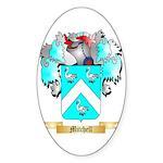 Mitchell English Sticker (Oval)
