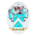 Mitchell English Oval Ornament