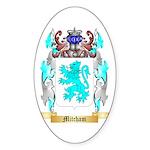 Mitcham Sticker (Oval 50 pk)