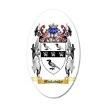 Miskovsky 35x21 Oval Wall Decal