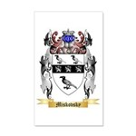 Miskovsky 20x12 Wall Decal
