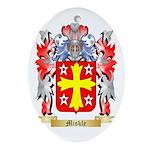 Miskle Oval Ornament