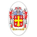 Miskelly Sticker (Oval 10 pk)