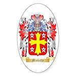 Miskelly Sticker (Oval 50 pk)